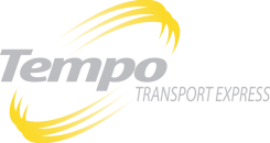 Logo Tempo Transport Express - Gris