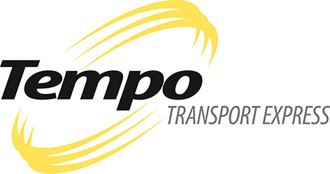 Logo Tempo Transport Express - Noir